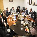 German delegation expressed interest in the exchange of professors and students.