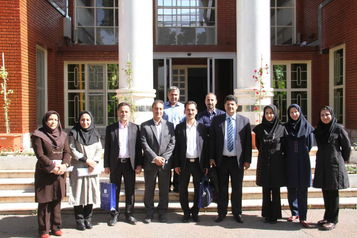 A delegation from Polytechnic University of Sulemani paid a visit to Tehran School of Nursing & Midwifery (fnm)