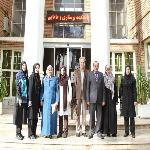 The Meeting of the University of Kufa Delegation with the School's Officials