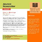 Publication of the first issue of international graduates' newsletter